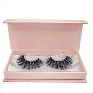 Luxury Mink 3D lashes in #60 (Natural Long)